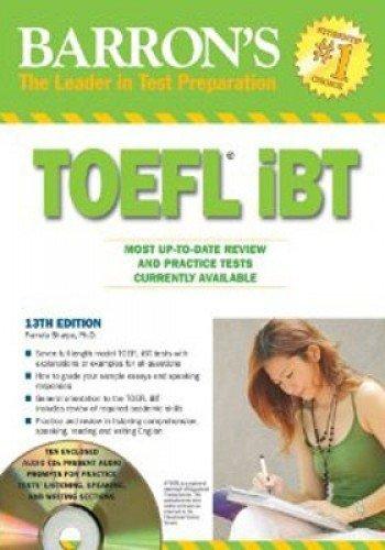 9780764196997: Barron's TOEFL iBT with Audio Compact Discs (Barron's TOEFL IBT (w/CD audio))