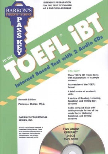 9780764197017: Pass Key to the TOEFL iBT with Audio-CDs (Pass Key Toefl)