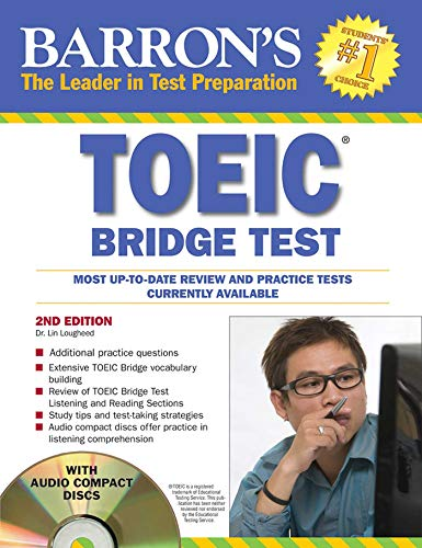 9780764197116: TOEIC  Bridge Test with Audio-CD: Test of English for international Communication (Barron's)