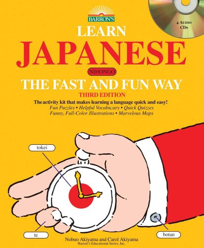 9780764197123: Learn Japanese the Fast and Fun Way with 4 Audio CDs (Fast and Fun Way CD Packages)