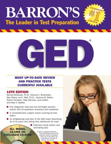 9780764197420: Barron's GED (Barron's: The Leader in Test Preparation)