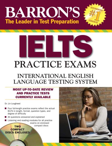 9780764197987: IELTS Practice Exams Book with 2 Audio Cds: International English Language Testing System (Barron's Ielts Practice Exams)
