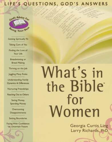 9780764203831: What's in the Bible for Women: Life's Questions, God's Answers (What's in the Bible for You?)