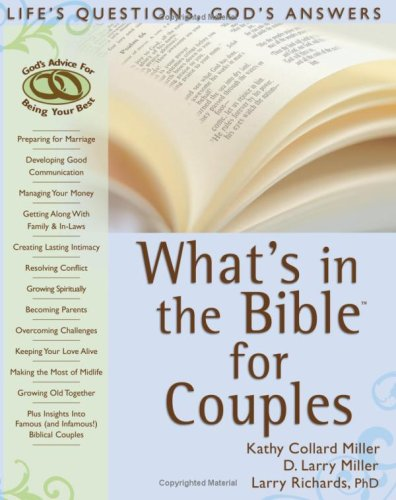 9780764203848: What's in the Bible for Couples: Life's Questions, God's Answers (What's in the Bible for You?)