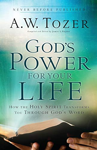 9780764216190: God's Power for Your Life: How the Holy Spirit Transforms You Through God's Word