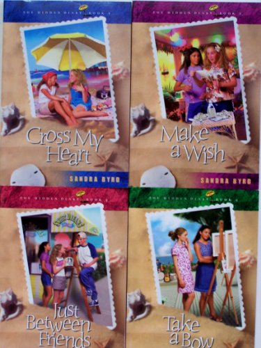 9780764288500: Hidden Diary Pack, Vols. 1 - 4 (Cross My Heart, Make a Wish, Just Between Friends, Take a Bow) (v. 1-4)