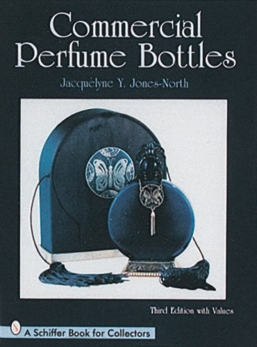 COMMERCIAL PERFUME BOTTLES. THIRD EDITION WITH VALUES
