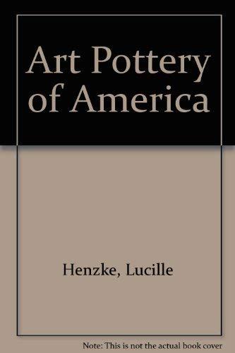 Art Pottery of America: Henzke, Lucile