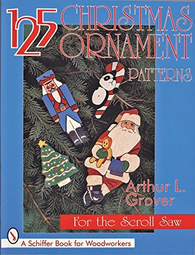 9780764303234: 125 Christmas Ornament Patterns for the Scroll Saw (Schiffer Book for Collectors)