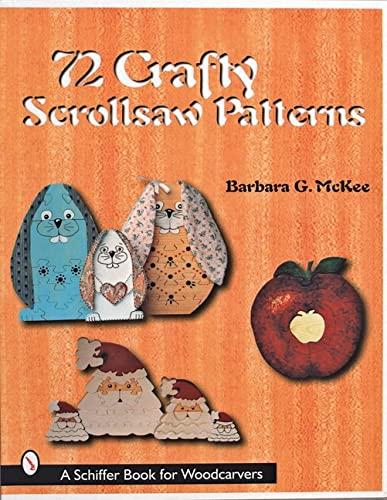 9780764308406: 72 Crafty Scrollsaw Patterns (Schiffer Design Books)