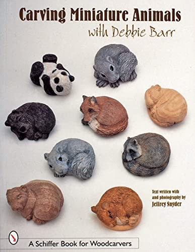 9780764309366: Carving Miniature Animals (Schiffer Book for Woodcarvers)
