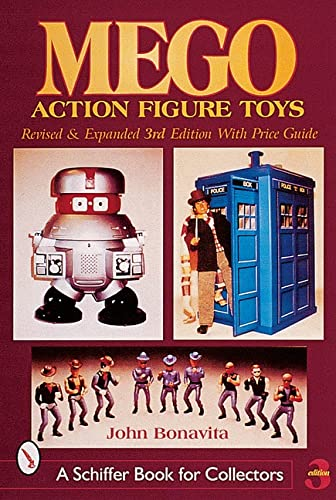 Mego Action Figures Toys (A Schiffer Book for Collectors)