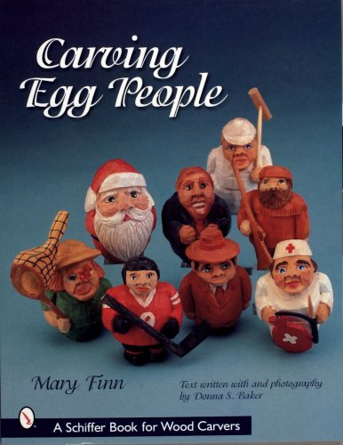 9780764313134: Carving Egg People (Schiffer Military History Book)