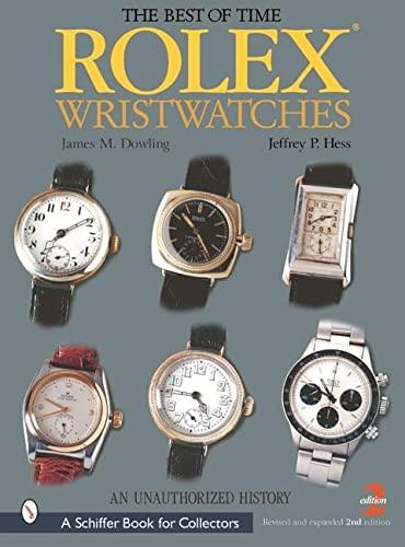 9780764313677: Rolex Wristwatches: An Unauthorized History (Bushwood Books)