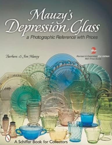9780764313714: Mauzy's Depression Glass: A Photographic Reference With Prices (Schiffer Book for Collectors)