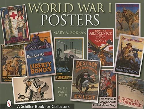 WORLD WAR I POSTERS.: Borkan, Gary A.