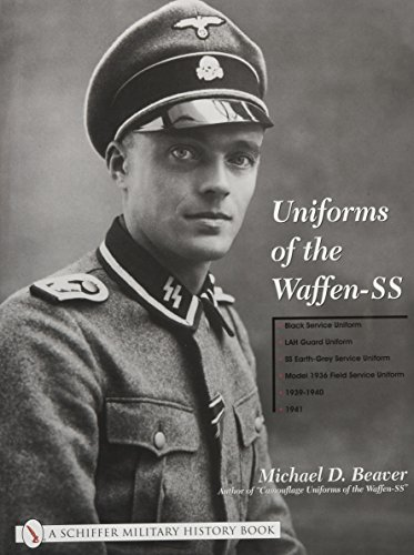 9780764315503: Uniforms of the Waffen-SS, Vol. 1: Black Service Uniform, LAH Guard Uniform, SS Earth-Grey Service Uniform, Model 1936 Field Service Uniform, 1939-1941