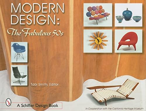9780764316210: Modern Design: The Fabulous 50s (Schiffer Design Books)