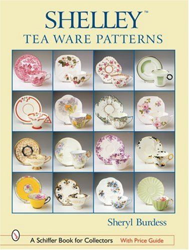 Shelley Tea Ware Patterns: Sheryl Burdess
