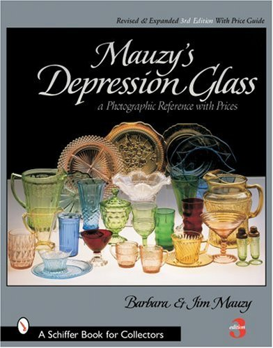 9780764318245: Mauzy's Depression Glass: A Photographic Reference With Prices (Schiffer Book for Collectors)