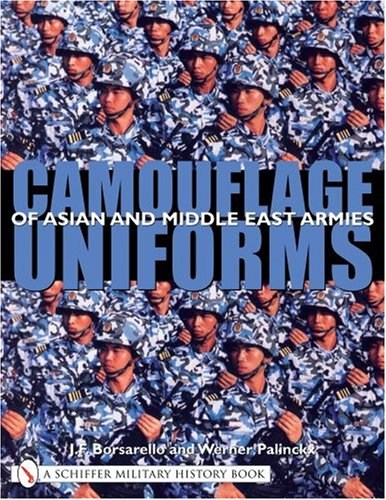 9780764319228: Camouflage Uniforms of Asian and Middle Eastern Armies