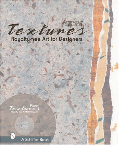 9780764321184: Paper Textures: Royalty Free Art For Designers