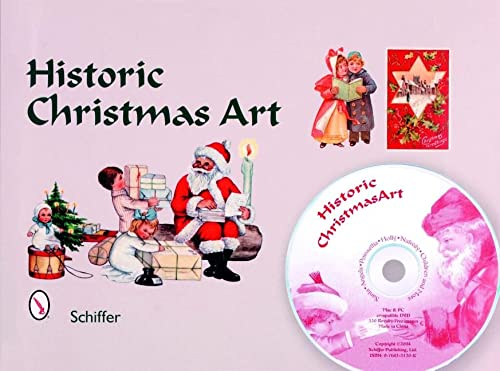 Historic Christmas Art: Santa, Angles, Poinsettia, Holly, Nativity, Children, And More: Martin, ...