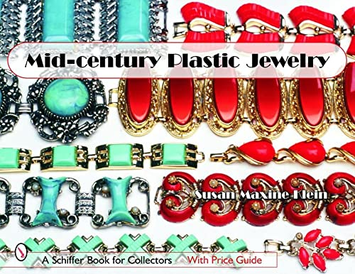 9780764322341: Mid-Century Plastic Jewelry (Schiffer Book for Collectors)