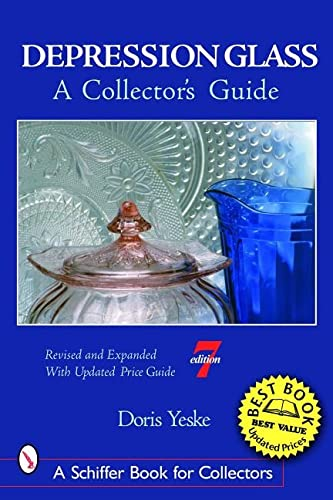 9780764322440: Depression Glass: A Collector's Guide (Schiffer Book for Collectors)