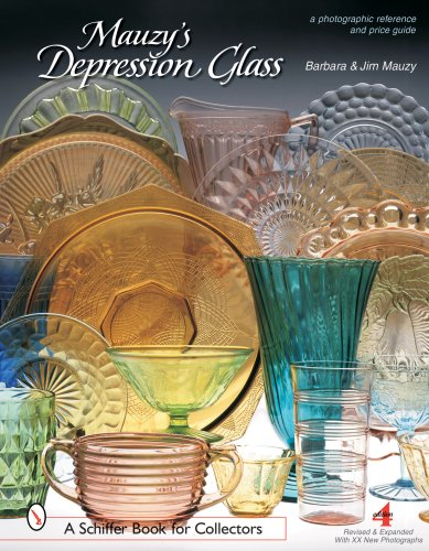 9780764322495: Mauzy's Depression Glass: A Photographic Reference with Prices (Schiffer Book for Collectors)