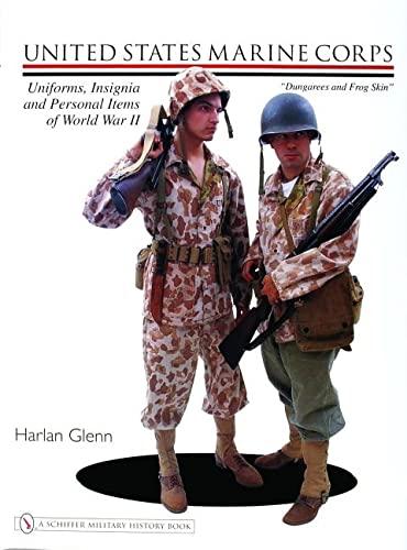 United States Marine Corps Uniforms, Insignia and Personal Items of World War II:: Harlan Glenn
