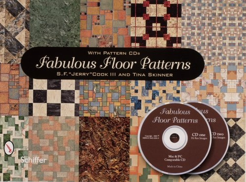 9780764322914: Fabulous Floor Patterns: With CD