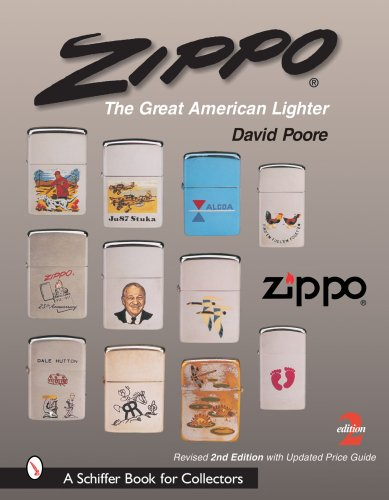 9780764323379: Zippo: The Great American Lighter : Including the Poore Guide to Zippo Prices (Schiffer Book for Collectors)