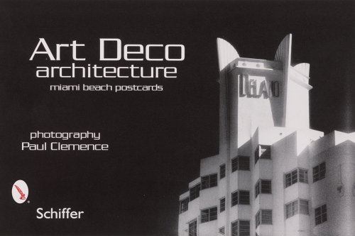 9780764323409: Art Deco Architecture: Miami Beach Postcards