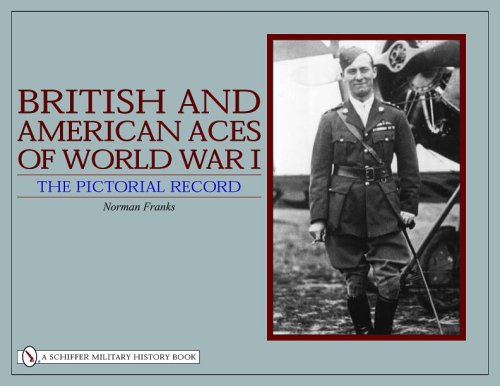 9780764323416: British and American Aces of World War I: The Pictorial Record