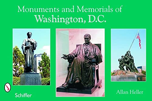 9780764324185: Monuments and Memorials of Washington, D.C.