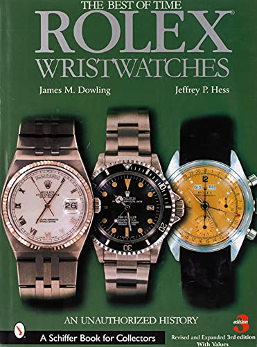 9780764324376: Rolex Wristwatches: An Unauthorized History (A Schiffer Book for Collectors)