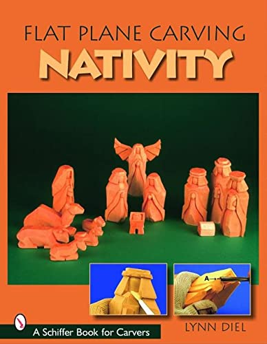 9780764324390: Flat Plane Carving the Nativity