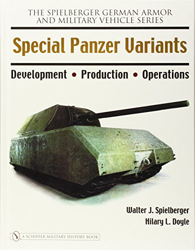 9780764326226: Special Panzer Variants: Development - Production - Operations