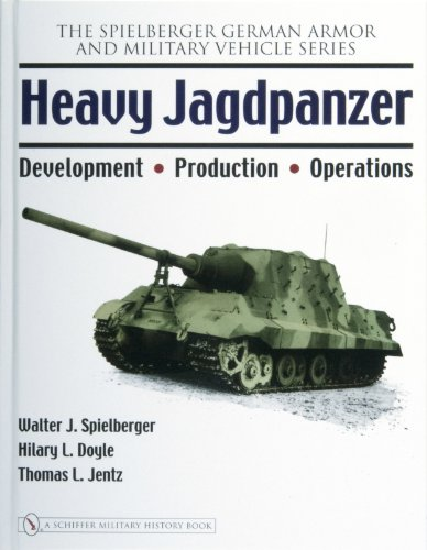 9780764326257: Heavy Jagdpanzer: Development - Production - Operations (Spielberger German Armor and Military Vehicle)