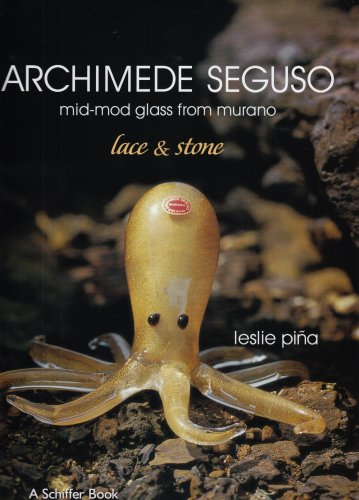Archimede Seguso: Mid-mod Glass from Murano: Lace and Stone