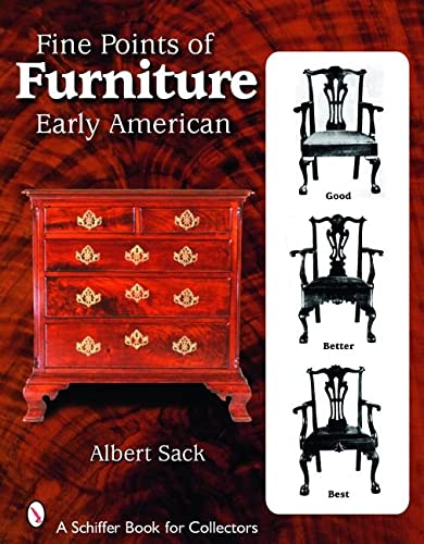 9780764327377: Fine Points of Furniture: Early American (Schiffer Book for Collectors)