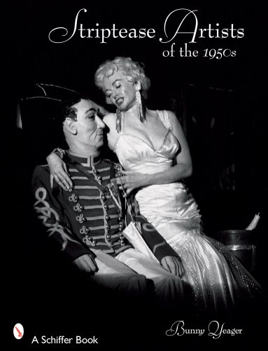 9780764328008: Striptease Artists of the 1950s (Schiffer Books)