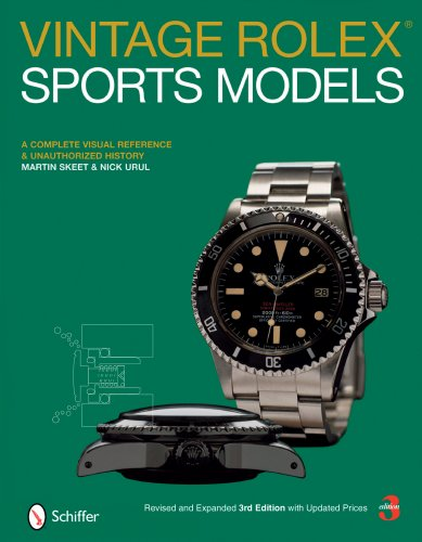 9780764329814: Vintage Rolex Sports Models: A Complete Visual Reference & Unauthorized History