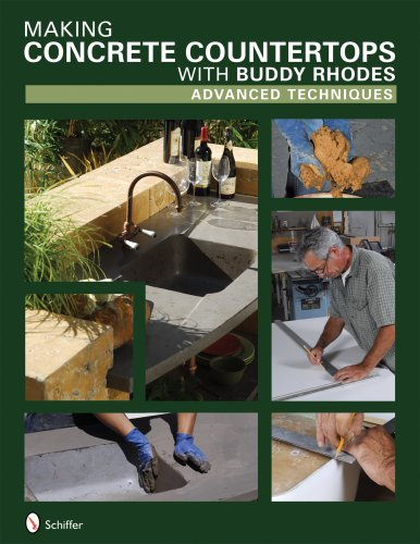 9780764330148: Making Concrete Countertops with Buddy Rhodes: Advanced Techniques
