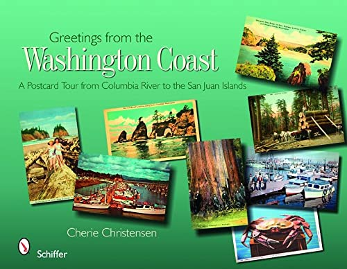 9780764330346: Greetings from the Washington Coast: A Postcard Tour from Columbia River to the San Juan Islands
