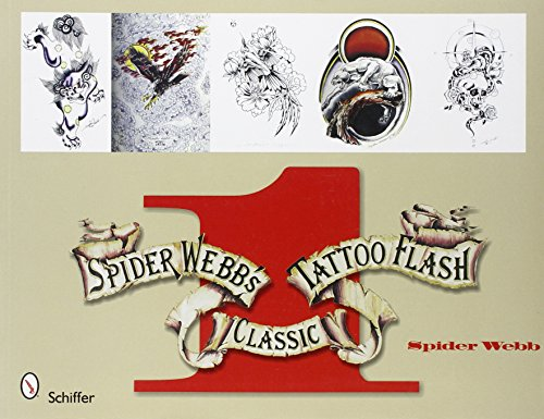 9780764330780: Spider Webb's Classic Tattoo Flash, Book 1: Bk.1