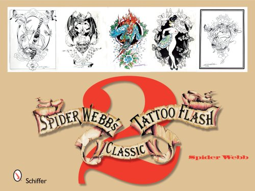 9780764330797: Spider Webb's Classic Tattoo Flash 2: Bk.2