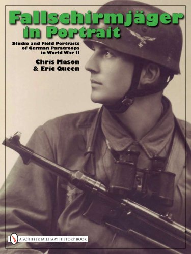 9780764331374: Fallschirmjäger in Portrait: Studio and Field Portraits of German Paratroops in World War II