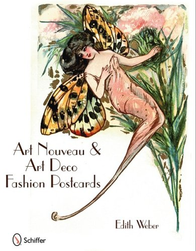 9780764332708: Art Nouveau & Art Deco Fashion Postcards